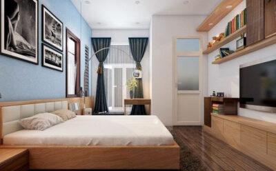 Những thiết kế nội thất phòng ngủ hiện đại cho căn hộ chung cư được ưa chuộng nhất