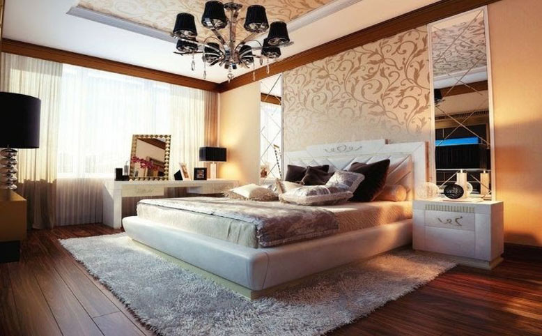 Nội thất phòng ngủ hiện đại đẹp ngất ngây
