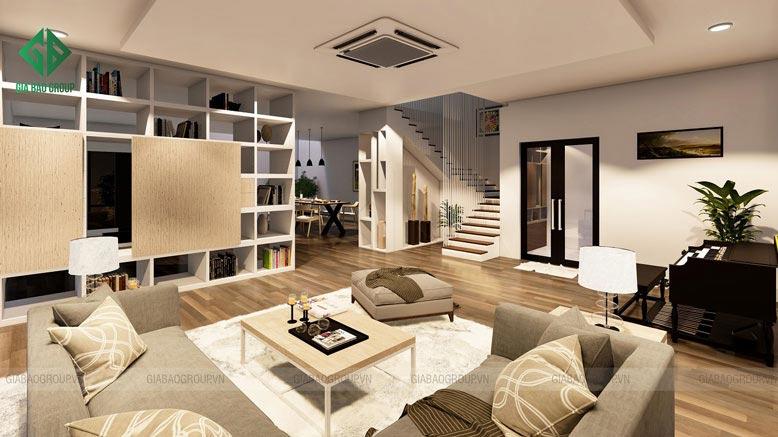 Sắp xếp nội thất cho biệt thự mini cần đảm bảo yếu tố khoa học