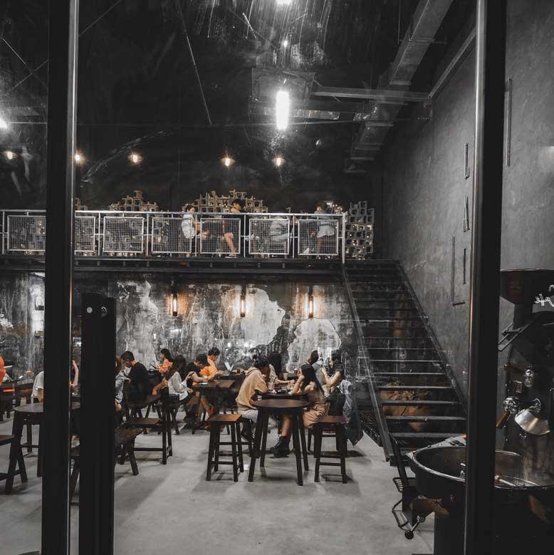 Gia Bảo Group và công trình thi công quán cà phê đậm chất