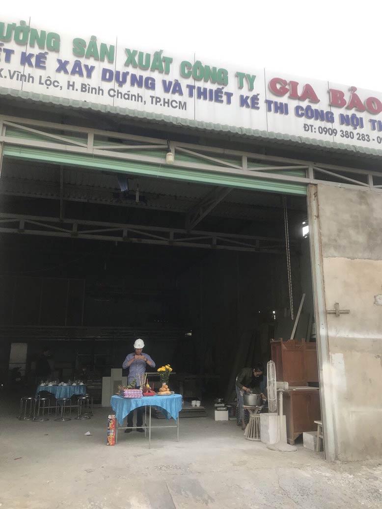 Xưởng sản xuất vật tư tại GIABAOGROUP đáp ứng các tiêu chí về chất lượng, tính thẩm mỹ, đi kèm với đó là mức giá siêu tiết kiệm