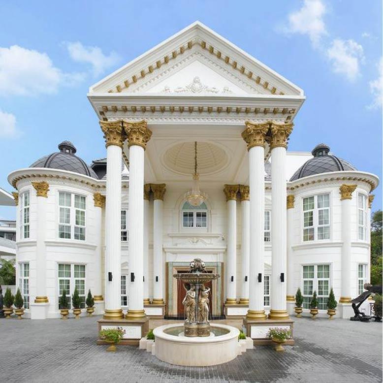 Mẫu biệt thự 2 tầng theo phong cách Châu Âu