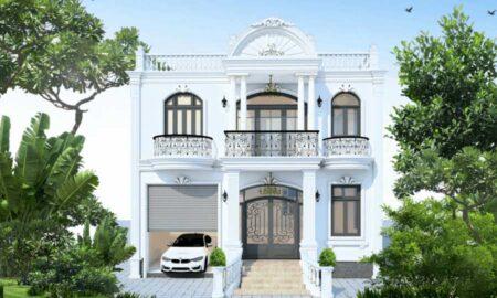 Chiêm ngưỡng mẫu thiết kế biệt thự 2 tầng sang trọng đẹp lung linh tại Bình Phước