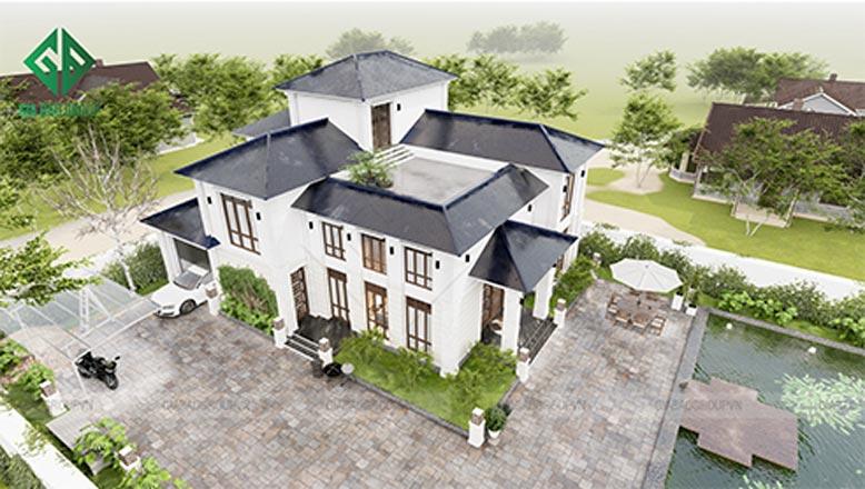 Kết cấu tổng thể của công trình có sự đồng bộ và thẩm mỹ cao