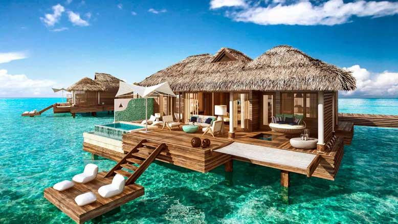 Thiết kế xây dựng bungalow ở những nơi như gần biển, nơi có thể nhìn thấy cảnh quan thiên nhiên đẹp