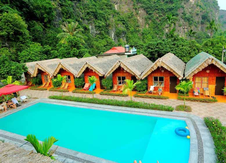 Bungalow đẹp tại Tam Cốc Việt Nam
