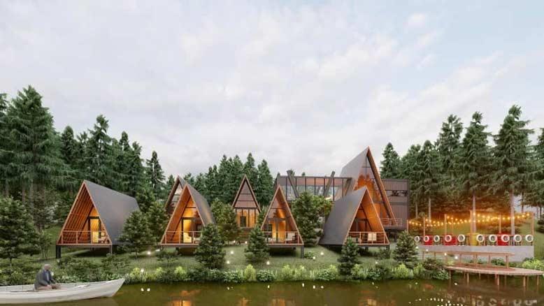 Phong cách thiết kế chủ đạo của homestay đẹp ở Bảo Lộc