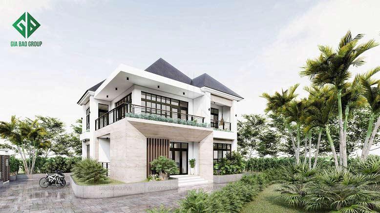 Mẫu biệt thự đẹp nhất Việt Nam phong cách hiện đại
