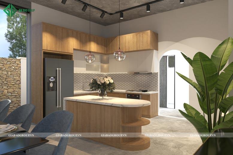 Mẫu thiết kế nội thất bếp đẹp, hiện đại, tối giản các chi tiết