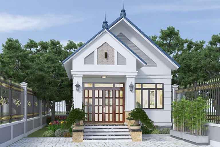 Nhà mái Thái nhỏ và đẹp