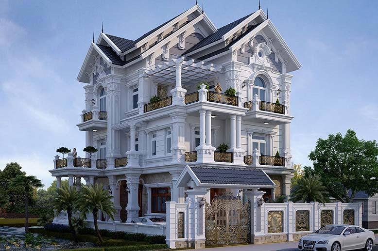 Nhà mái thái phong cách cổ điển
