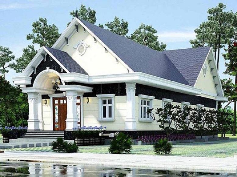 nhà mái thái tân cổ điển