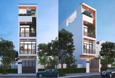 Ngẩn ngơ trước mẫu nhà phố 4 tầng sang trọng, hiện đại huyện Nhà Bè, TPHCM