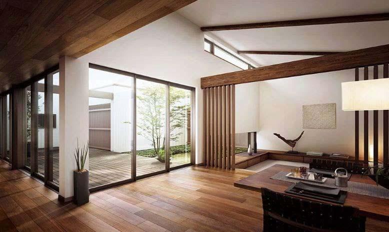 Thi công nội thất chung cư kết hợp hoàn hảo giữa hiện đại với nội thất nhà truyền thống của Hàn Quốc.