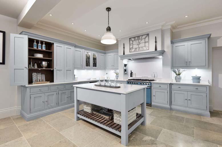 Thiết kế nội thất bếp đẹp hình chữ L