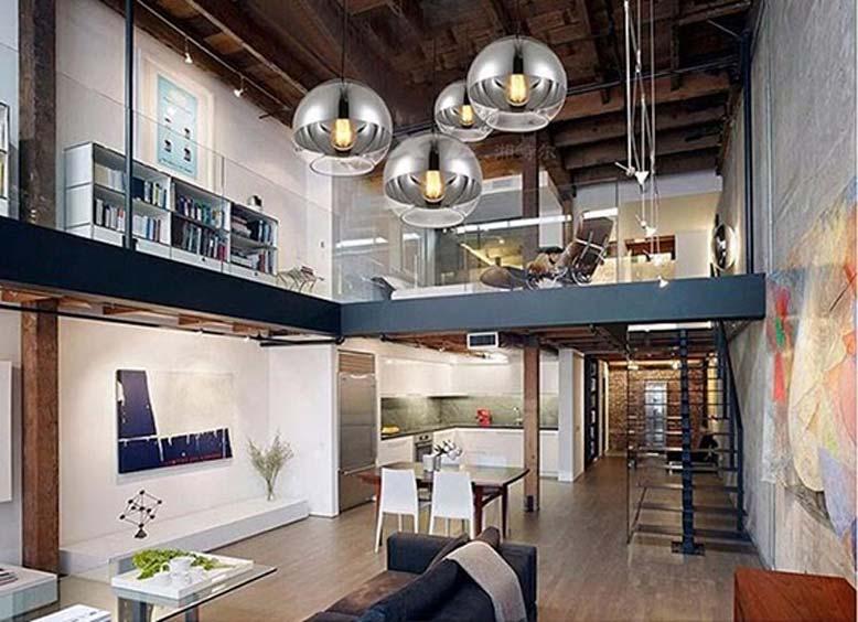Thiết kế nội thất nhà cấp 4 có gác lửng tiết kiệm không gian và tăng tính thẩm mỹ.