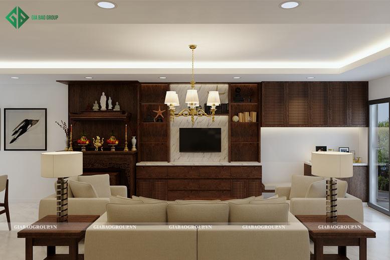 Thiết kế nội thất nhà cấp 4 đẹp mang lại cảm giác thoải mái cho cả gia đình