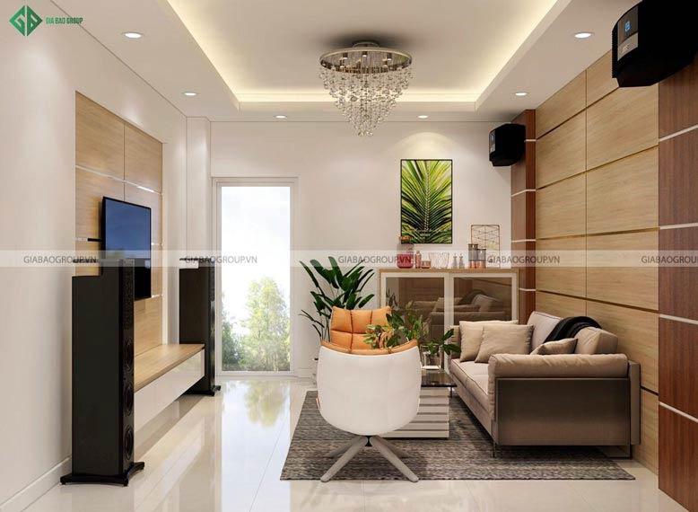 Thiết kế nội thất nhà cấp 4 này không chỉ thời thượng mà còn mang lại vẻ đẹp tiện nghi.