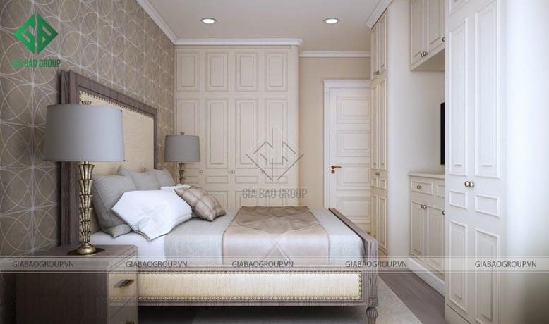 Phòng ngủ nội thất nhà ống 4m cần thiết kế sao cho đồng bộ với tổng thể căn nhà