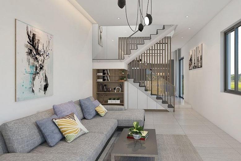 Thiết kế nội thất nhà ống đẹp phải có điểm nhấn độc đáo