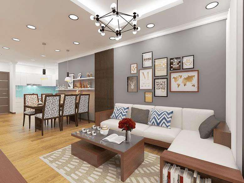 Thiết kế phối cảnh nội thất chung cư đẹp