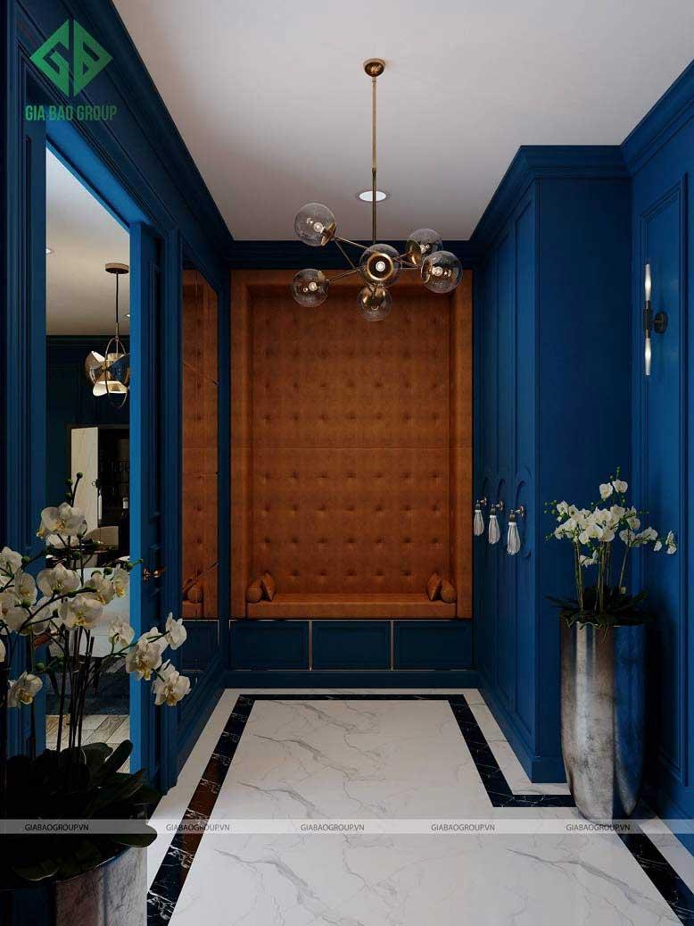 Thi công nội thất trọn gói với màu sắc bắt mắt