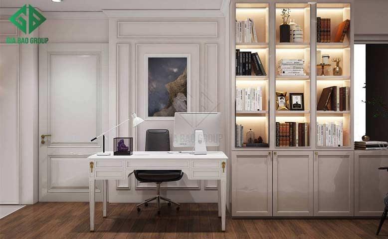 Thi công nội thất trọn gói với màu sắc nhã nhặn
