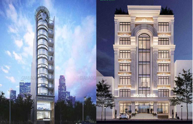 Thiết kế thi công khách sạn phong cách cổ điển
