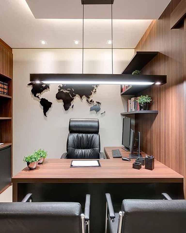 Thiết kế văn phòng cho giám đốc
