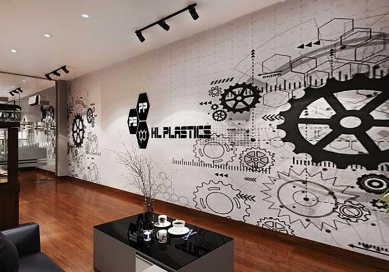 Thiết kế văn phòng hiện đại, trẻ trung