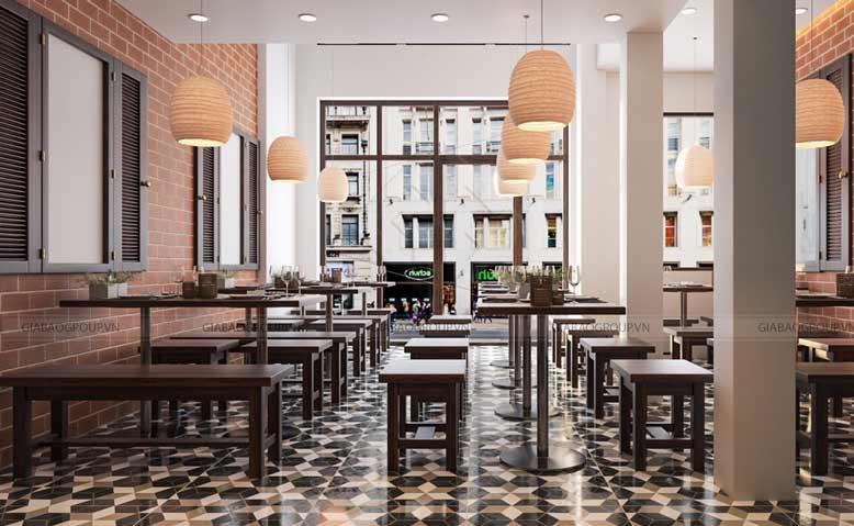 Lựa chọn gam màu chủ đạo thiết kế quán ăn sao cho thích hợp nhất
