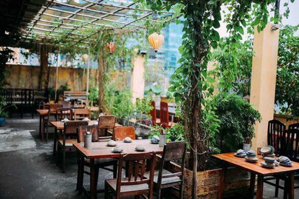 Những mẫu thiết kế quán ăn đẹp kết hợp không gian xanh là xu hướng của năm 2020