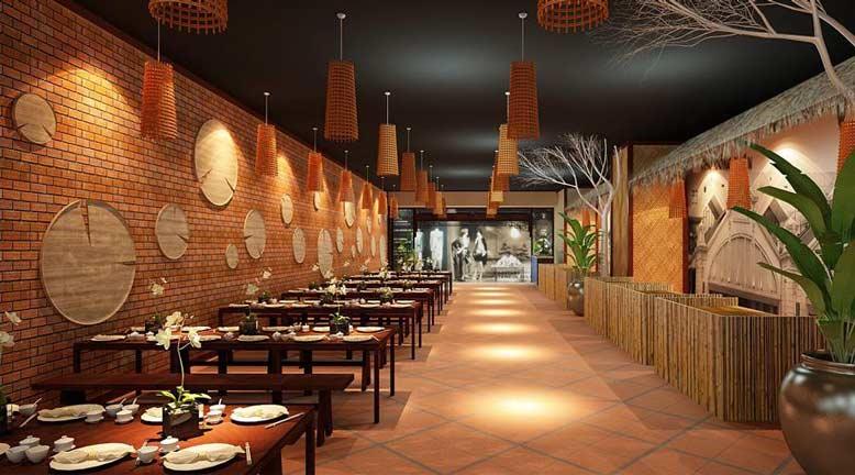 Màu sắc là yếu tố quan trọng để có những thiết kế quán ăn đẹp
