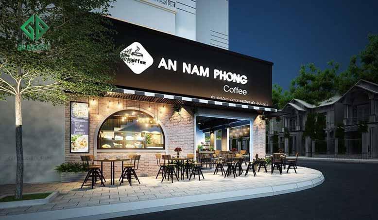 Thiết kế quán cafe với view đẹp sẽ hút khách hàng rất nhanh