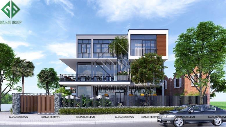Thiết kế thi công nhà ở kết hợp quán cafe tuyệt vời qua bàn tay sáng tạo của các KTS