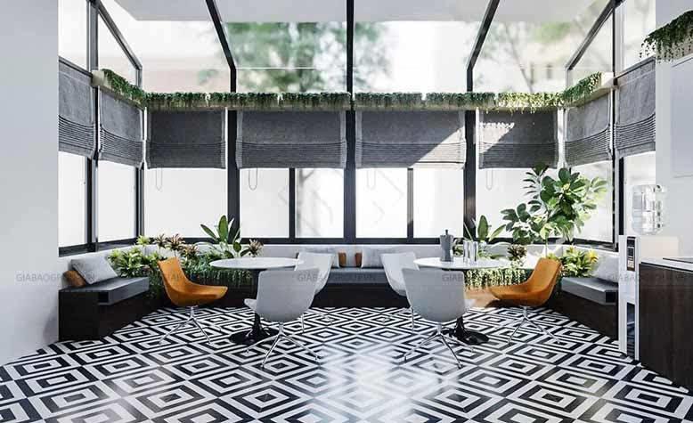 Thiết kế nội thất VNDIRECT đưa thiên nhiên vào trong văn phòng