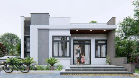 Những mẫu thiết kế nhà cấp 4 mái bằng sang trọng, được ưa chuộng nhất 2021