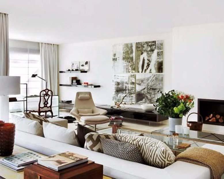 Phong cách nội thất chiết trung - Một trong các phong cách thiết kế nội thất được gia đình thượng lưu ưa chuộng