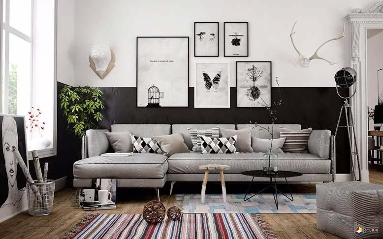 Các phong cách thiết kế nội thất được giới trẻ ưa chuộng - tối giản