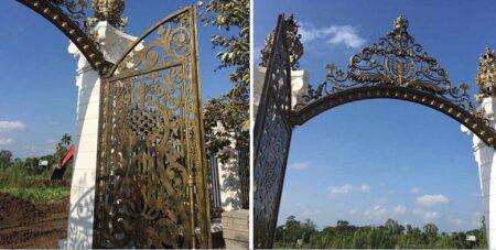 Ngắm những mẫu cổng biệt thự thiết kế sang trọng, tinh tế