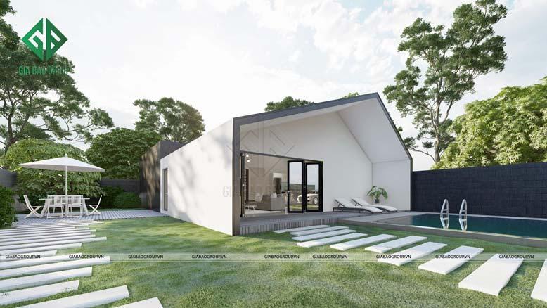 Chiêm ngưỡng nhà 1 tầng đẹp phong cách hiện đại