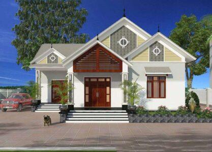 Một số kiểu thiết kế nhà cấp 4 nông thôn được ưa chuộng nhất