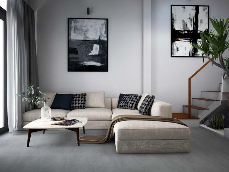 Phong cách thiết kế nội thất nhà ống hiện đại