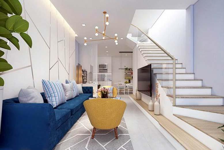 Phong cách tối giản trong nội thất nhà ống