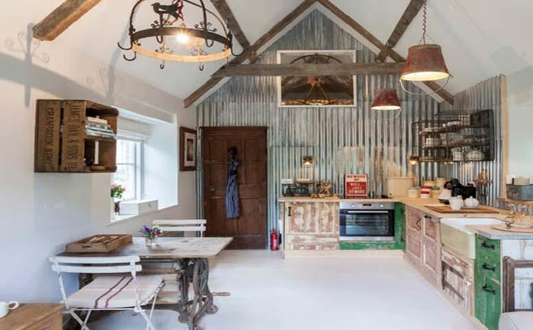 Thiết kế nội thất nhà ống vintage