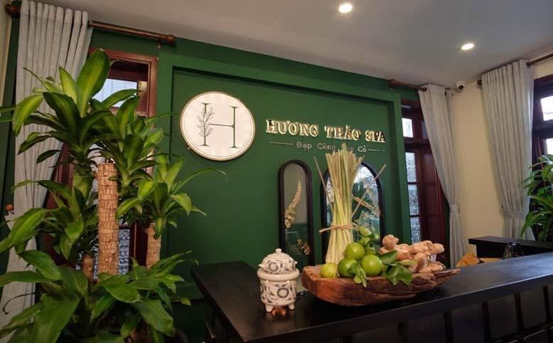 Thi công nội thất spa Hương Thảo tại Phú Nhuận