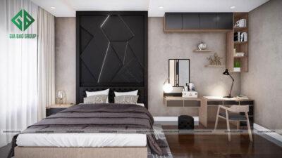 Khám phá mẫu phòng ngủ master phong cách hiện đại, đẹp ngất ngây