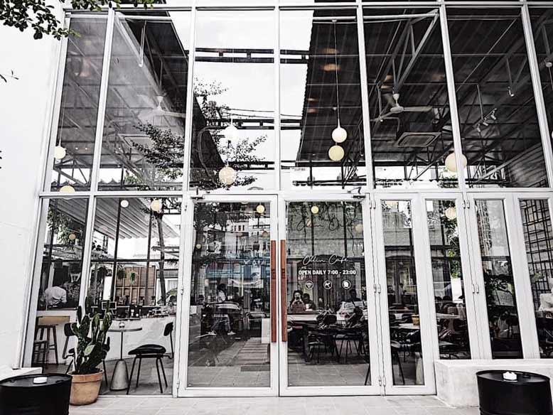 Vẻ hiện đại của Cafe Oliin- Quán cafe đẹp ở Sài Gòn