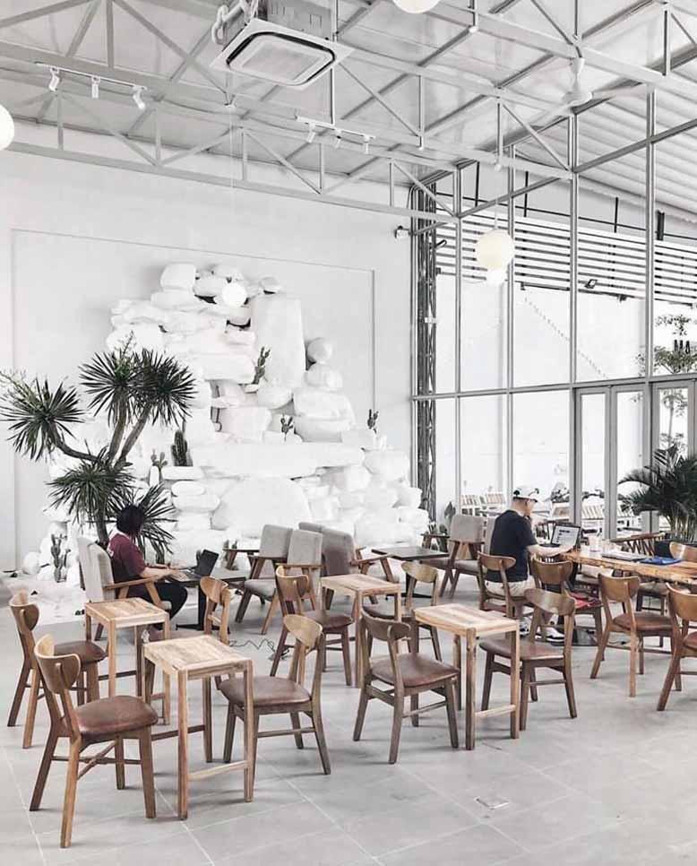 Thiết kế hiện đại, sang trọng và bắt mắt của quán cafe đẹp ở Sài Gòn
