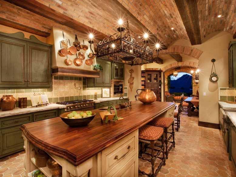 Phòng bếp nhuốm màu cổ tích